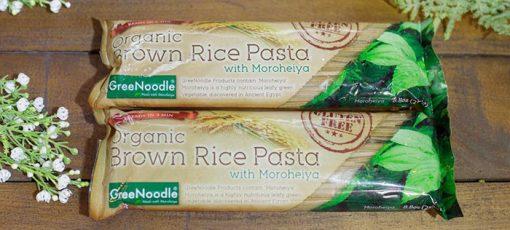 Mì ống hữu cơ GreeNoodle Organic Brown Rice Pasta 1