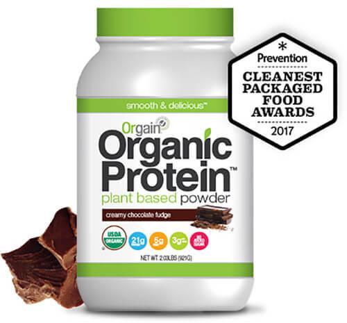 Bột Protein hữu cơ Orgain Organic Protein vị Socola