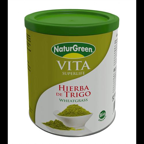 Bột lúa mì hữu cơ NaturGreen Hierba de Trigo Wheatgrass 5