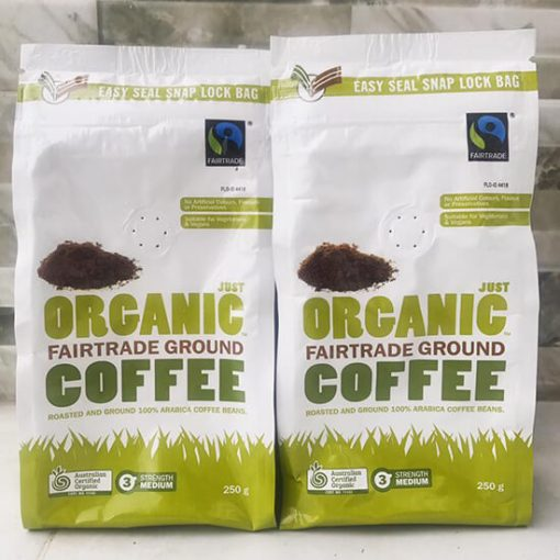 Ca phe huu co Uc Just Organic Coffee 2