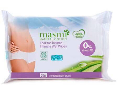 Khan uot ve sinh vung kin Masmi Intimate wet wipes