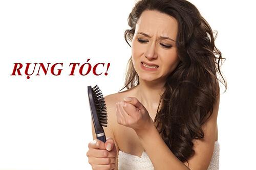 Hoocmon thay đổi khiến tóc rụng nhiều