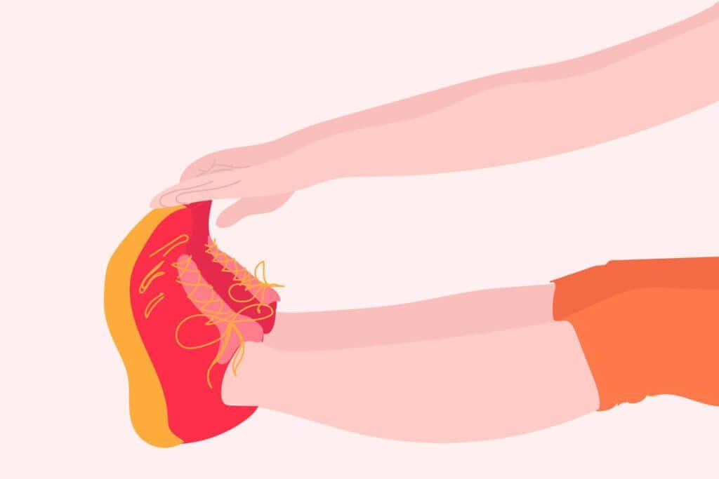 Chạm tay vào ngón chân 2